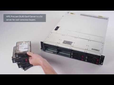 Hewlett Packard Enterprise ProLiant DL80 Gen9 Server QuickLook