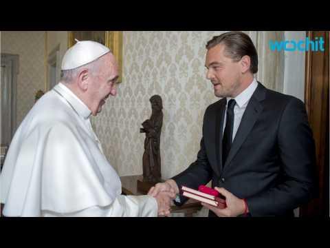 Leonardo DiCaprio and Pope Francis Meet