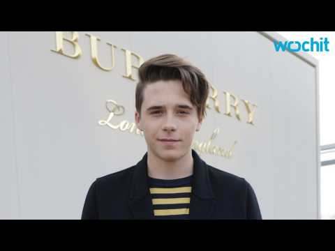 Burberry Hires Brooklyn Beckham for New Campaign