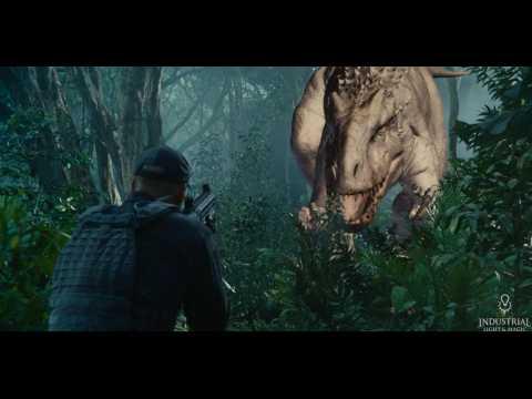 Découvrez Jurassic World sans ses effets spéciaux