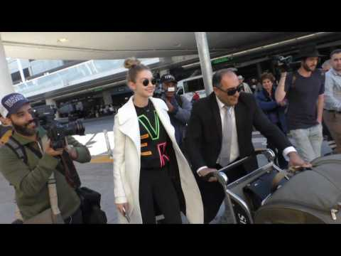 A Mob Of Celebs Return From Paris This Week