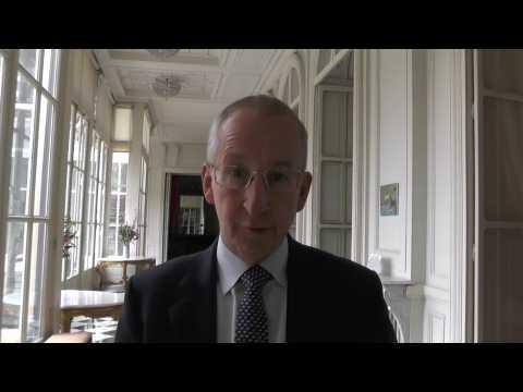 Peter Ricketts, l'ambassadeur du Royaume-Uni en France, fait ses adieux