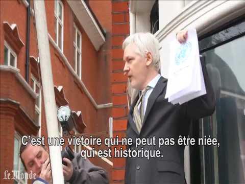 """Assange crie """"victoire"""" après les conclusions de l'ONU en sa faveur"""