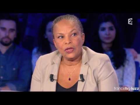 """Taubira dans ONPC : """"Il y a des désaccords entre Valls et moi"""""""