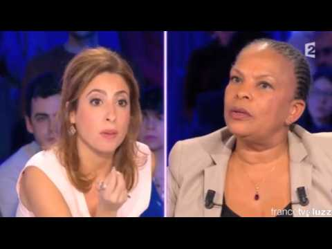 """On change les choses"", le coup de gueule de Taubira face à Salamé"