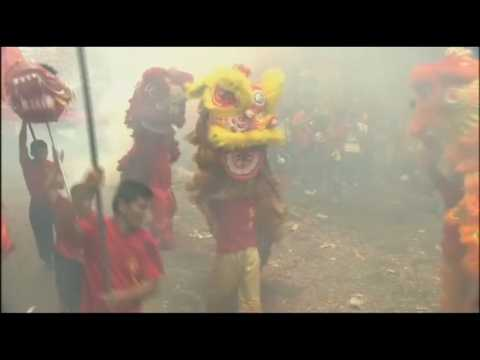 Countries across Asia celebrate Lunar New Year