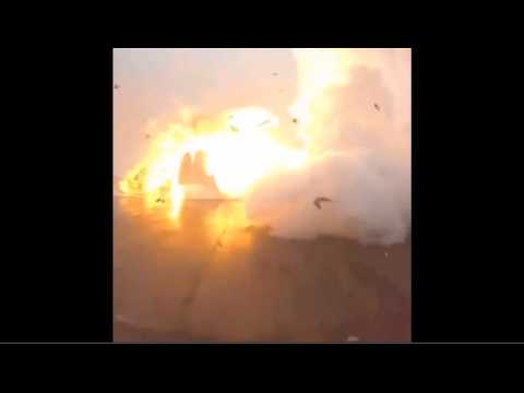 Le satellite franco-américain de SpaceX rate son atterrissage et s'explose sur une barge en mer