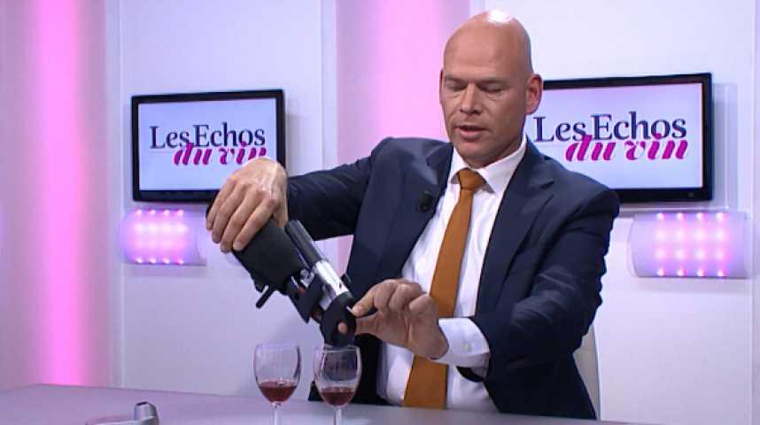 Illustration pour la vidéo Coravin : boire du vin sans ouvrir la bouteille, révolutionou gadget ?