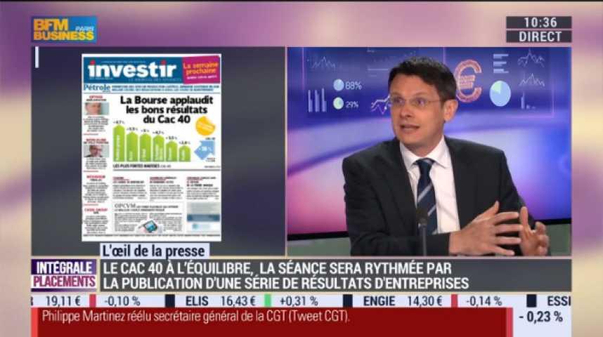 Illustration pour la vidéo La Bourse applaudit les bons résultats