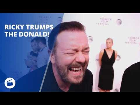 Ricky Gervais goes on epic rant about Donald Trump