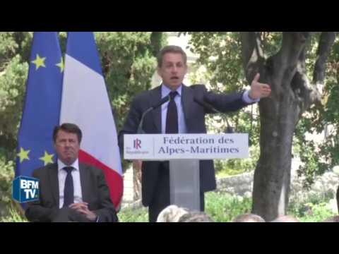 """Nuit debout : des participants qui """"n'ont rien dans le cerveau"""" selon Sarkozy"""