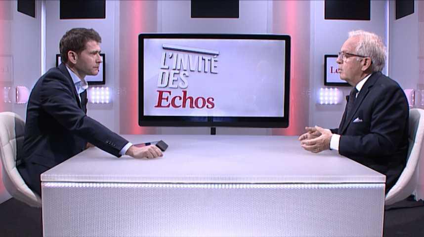 """Illustration pour la vidéo Philippe Camus (Alcatel) : """"Il fallait être prêt pour la mise en place de la 5G"""""""