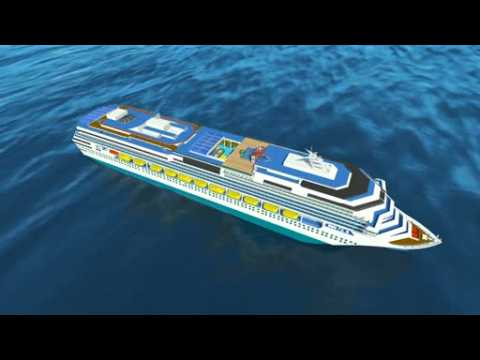 World's largest cruise ship Harmony of the Seas sets sail on maiden voyage