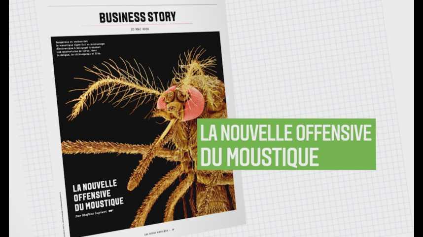 Illustration pour la vidéo Les Echos Week-End : La nouvelle offensive du moustique !