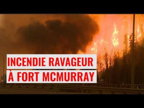 Incendie ravageur à Fort McMurray au Canada