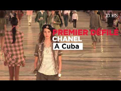 Cuba : le premier défilé Chanel dans les rues de La Havane