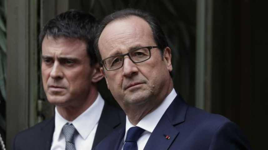 Illustration pour la vidéo Hollande fête ses 4 ans à l'Elysée avec une impopularité record