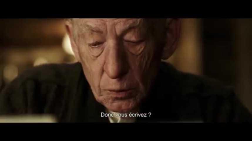 """Illustration pour la vidéo """"Mr Holmes"""", un Sherlock inattendu, au cinéma cette semaine"""