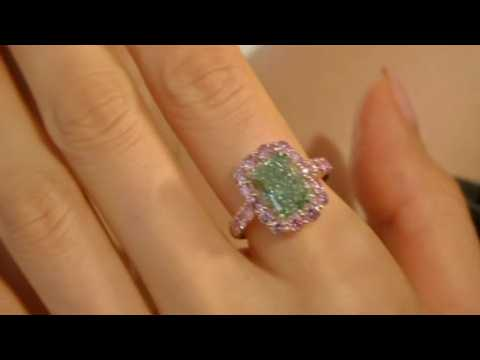 World's largest green diamond up for auction