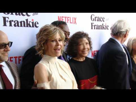 Jane Fonda Is Still Stunning On The Netflix Red Carpet