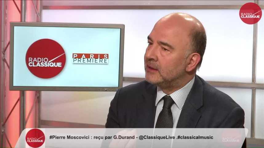 Illustration pour la vidéo Pierre Moscovici, Commissaire européen aux Affaires économiques et financières