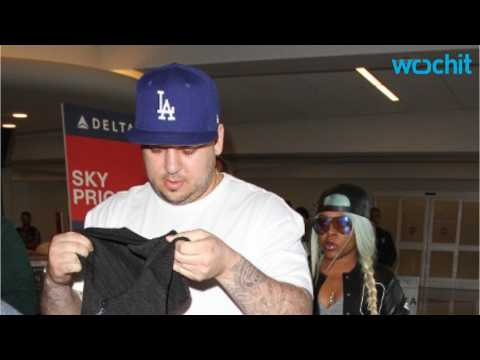 Rob Kardashian emerges unscathed from car accident