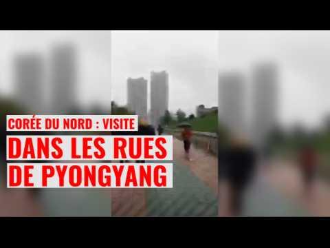 Corée du Nord : censurés, des journalistes font visiter les rues de Pyongyang