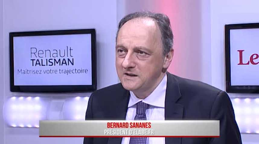 """Illustration pour la vidéo Bernard Sananès (Elabe) : """"En dix-huit mois Macron est devenu candidat potentiel"""""""