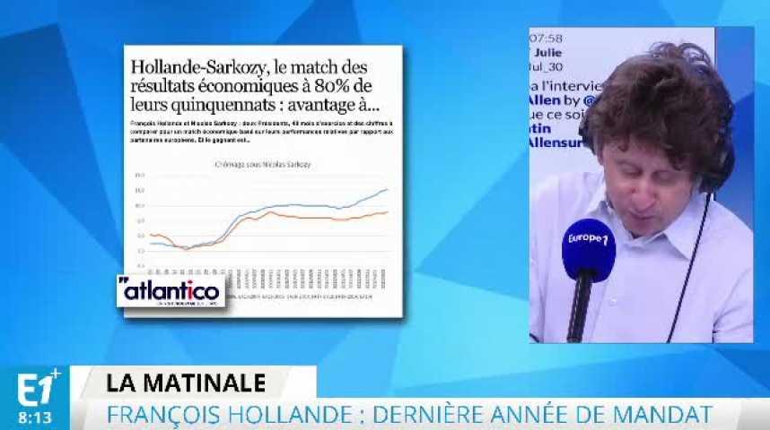 Illustration pour la vidéo Hollande