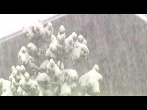 Springtime blizzard slams Colorado