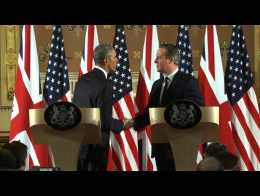 Obama issues stark trade warning against Brexit