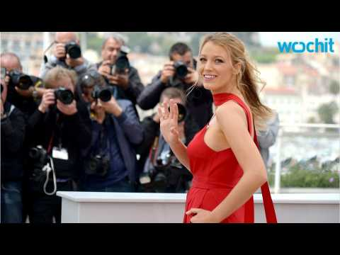Blake Lively Shows Off Baby Bump at Cannes