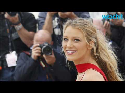 Blake Lively Shows Off Baby Bump at Cafe Society Cannes Photocall