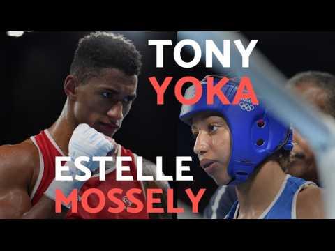 JO 2016 - Boxe : Tony Yoka - Estelle Mossely, un couple en or