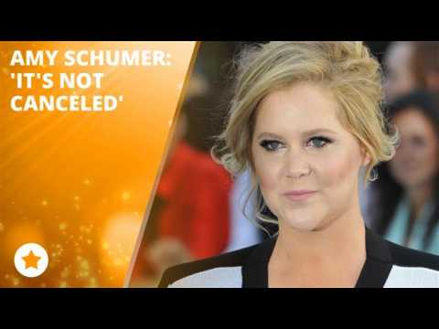 Amy Schumer sets things straight!
