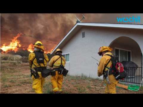 Firefighters Continue Battle With California Wildfire