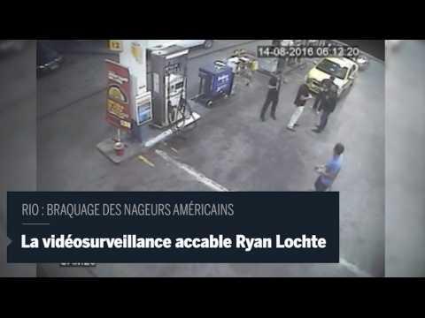 JO de Rio : le mensonge des nageurs américains capturé sur vidéosurveillance