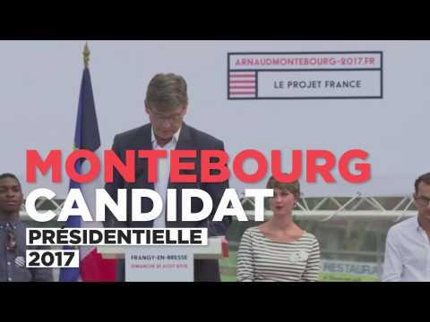 Arnaud Montebourg candidat à la présidentielle