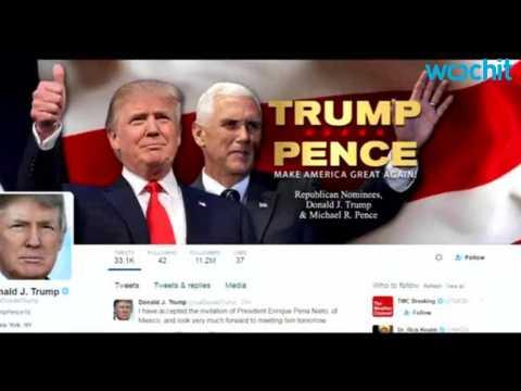 Trump VIsits Mexico For Latino Vote