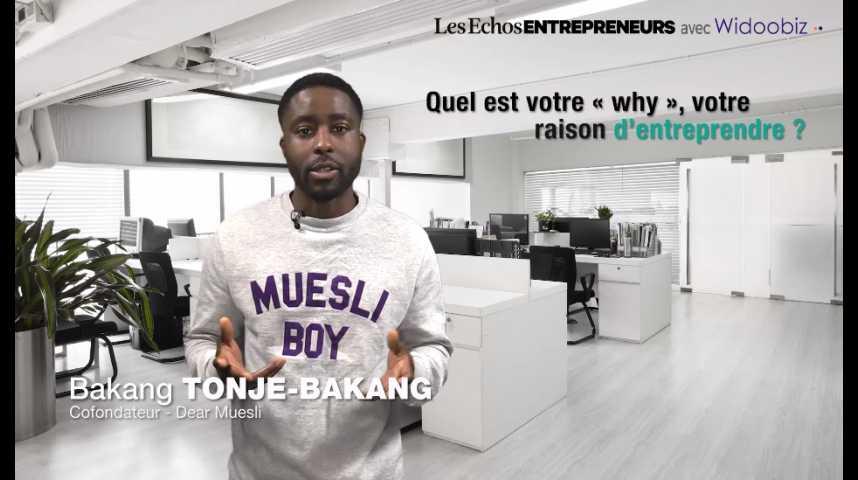 Illustration pour la vidéo « Entreprendre, mais pourquoi ? », Bakang Tonje-Bakang de Dear Muesli