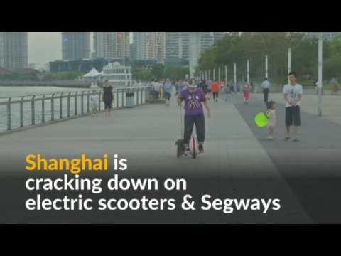 Shanghai bans electric scooters and Segways
