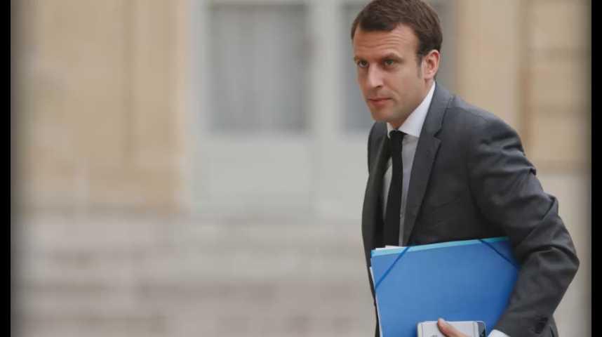 Illustration pour la vidéo Emmanuel Macron annonce sa démission du gouvernement