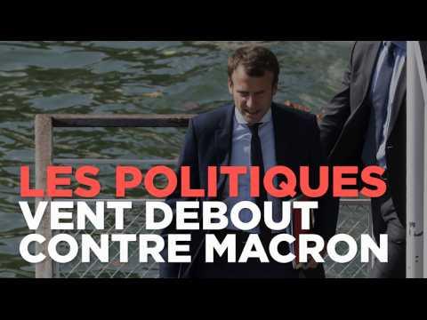 Démission de Macron : les politiques de tout bords vent debout contre l'ex-ministre
