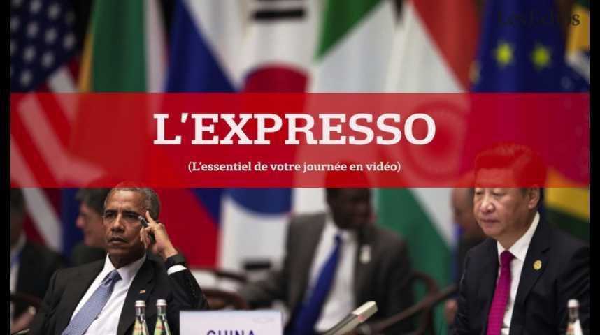 Illustration pour la vidéo L'Expresso du 5 septembre 2016 : G20, deuxième journée de discussions en Chine...
