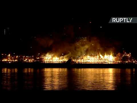 London's Burning! - Great Fire of 1666 Commemorated on 350th Anniversary