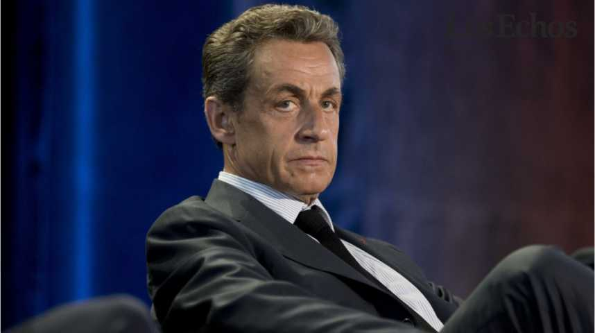 Illustration pour la vidéo Nicolas Sarkozy, un candidat gêné par les affaires