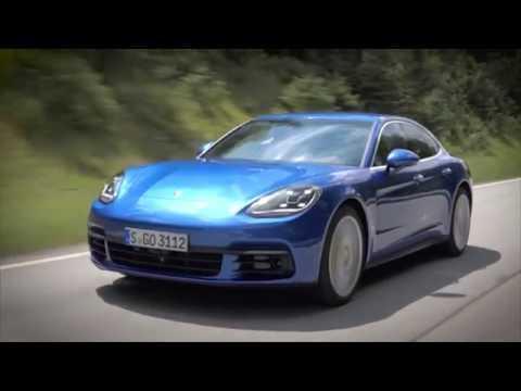 The new Porsche Panamera Chassis | AutoMotoTV