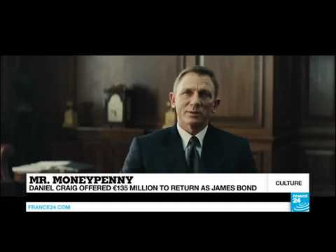 Cinema: Daniel Craig offered record €135 million to return as James Bond!