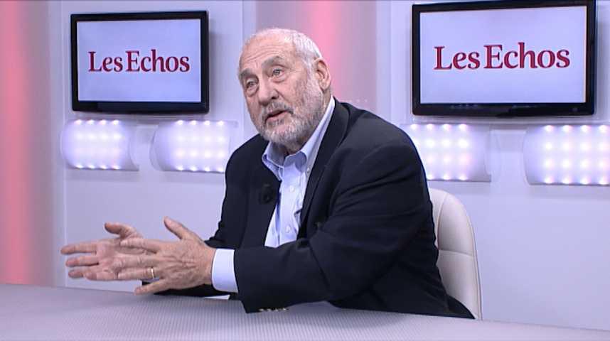 """Illustration pour la vidéo Joseph Stiglitz : """"il y a plusieurs moyens de répondre à une crise. Avec la monnaie unique, ces mécanismes ont été enlevés""""."""