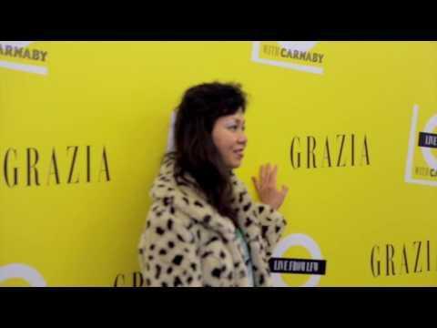 Grazia London Fashion Week Live Pop-Up Space